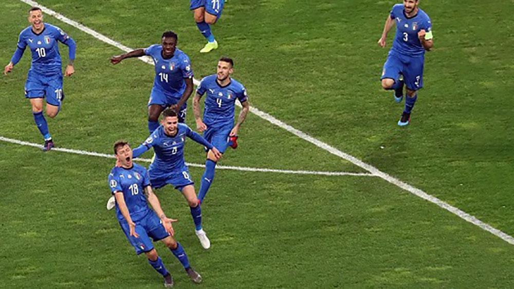 Italia thắng dễ trận ra quân vòng loại Euro 2020